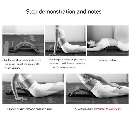 Back Massager Brancard Apparatuur Massage Gereedschap Massageador Magic Stretch Fitness