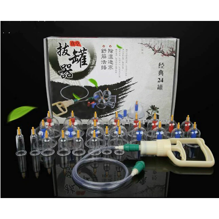 24Pcs Massage Blikjes Gezondheid Monitoren Chinese Cupping Therapie Blikjes Opener