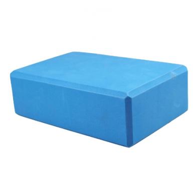 Eva Yoga Kurk Blauw Blok Lichtgewicht Draagbare Pilates Foam Brick Home Stretch Gym