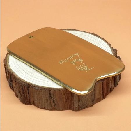 Koper Hele Lichaam Deep Tissue Spier Massage Tool Messing Guasha Beauty Spa