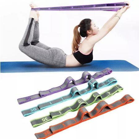 Professionele Gymnastiek Volwassen Meisje Latin Training Bands Pilates Yoga Stretch Resistance