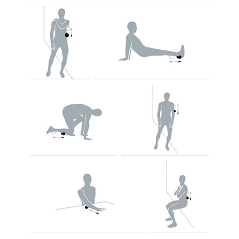 Triggerpoint zelfmassage pinda bal Lacrosse-Myofascia-Bal-Pinda-Massage-Bal-Hoge-Dichtheid-Lichtgewicht-Fitness-Body-Fascia-Massage