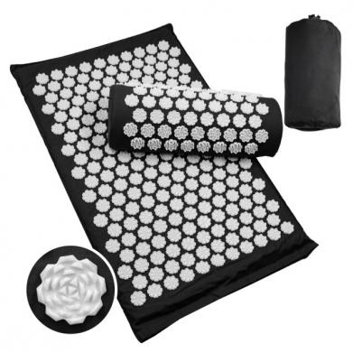 Acupressuur-Mat-Massage-Mat-Lichaam-Nek-Massager-Pijn-Verlichten-Massage-Kussen-Massage-Mat