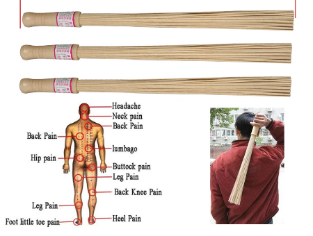 Natuurlijke Bamboe Stick Massage Ontspanning Masseur Stok Sticks Pai Sha