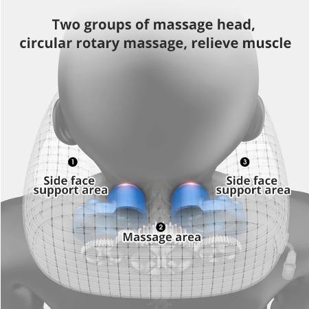 Elektrische Nek Massage U Vormige Kussen Multifunctionele Draagbare Schouder