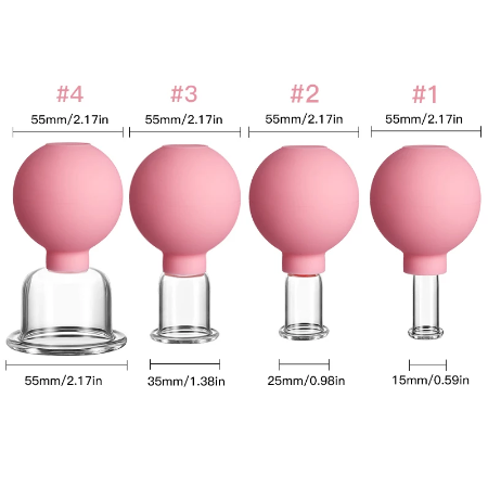 Massage Body Cups Vacuüm Cupping Bril Gezicht Huid Lifting Body Facial Cups Anti cellulites