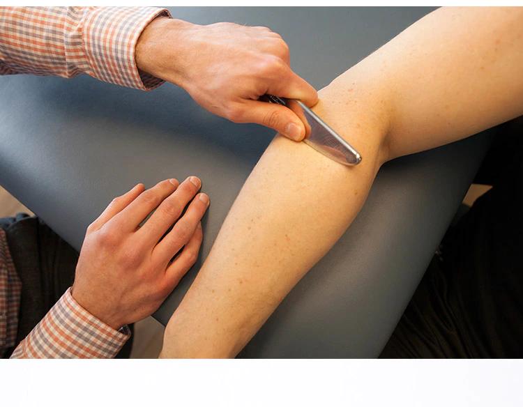 Triggerpoint - seach board - myofascial release Rvs-Spier-Fascia-Massager-Mes-Lichaam-Gua-Sha-Kneden-Chinese-Stijl-Fysieke-Gezondheidszorg-verklevingen-spierknopen