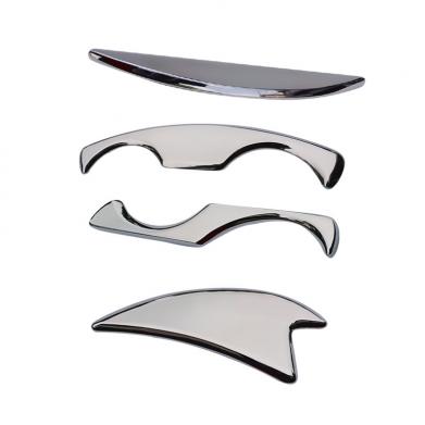 IASTM Tool set 4 oude stijl stuks Tissue-Verlichten-Gua-Sha-Tool-Spieren-Massager-Body-Ontspanning-Rvs-Soft-Tissue-Fysieke
