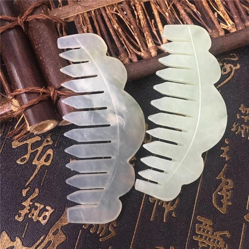 Traditionele-Chinese-Natuur-Jade-Kam-Massage-Spa-Acupunctuur-Hoofd-Behandeling-Gua-Sha-Board