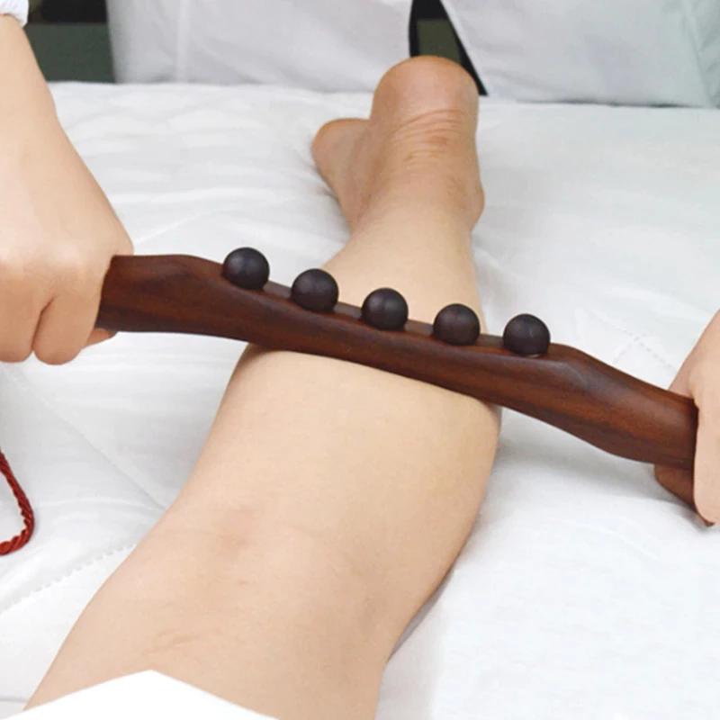 Natuurlijke-Verkoold-Hout-Schrapen-Massage-Stok-Body-Massage-Spa-Therapie-Tool-Punt-Behandeling-Guasha